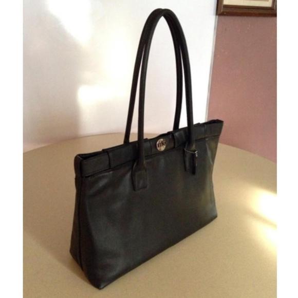 Mary Kay Handbags - Mary Kay Mk Women Black Leather Tote